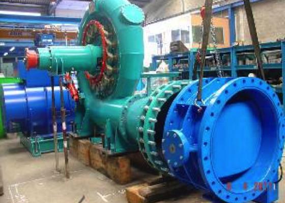 Central hidroeléctrica Candemil