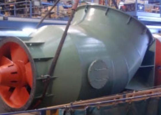 Reparació completa d'una Central Hidroelèctrica